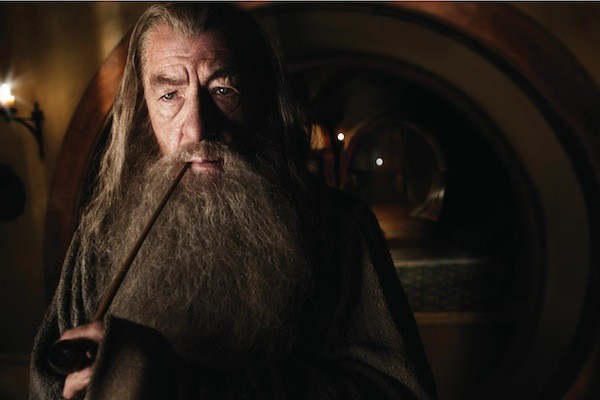 Ian McKellen in The Hobbit: An Unexpected Journey (Photo: Warner Bros.)