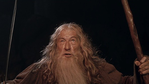 Ian McKellen in The Lord of the Rings: The Fellowship of the Ring (Photo: Warner Bros. & Lionsgate)