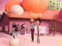 COLUMBIA - ICE CREAM DREAMS: Cloudy with a Chance of Meatballs.