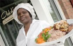 "CATALINA KULCZAR - Icia ""Addie"" Roman of Addie's Jamaican Cuisine"