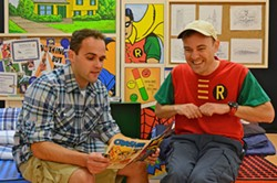 DONNA BISE - I'M AN EXCELLENT SPELLER: Stephen Seay and Scott Miller in Spelling 2-5-5