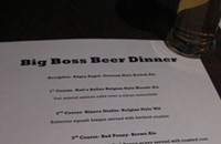 PHOTOS: Big Boss beer dinner @ Whiskey Warehouse