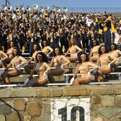 NC A&T Aggies vs. NC Central University Eagles @ Memorial Stadium, 10/4/08