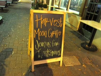 Harvest Moon Grille, 11/22/10
