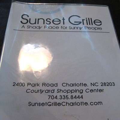 Sunset Grille, 6/15/10