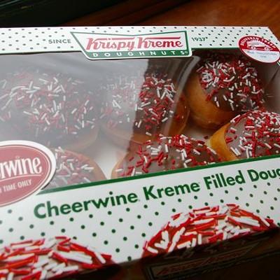 cheerwine donuts, 6/30/10