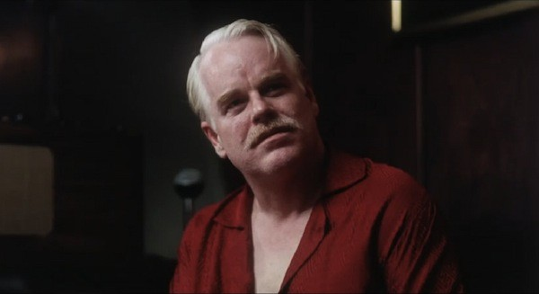 IN CHARGE: Philip Seymour Hoffman in The Master (Photo: The Weinstein Co.)