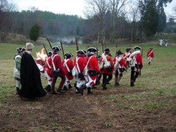 JARED NEUMARK - IN HIS MAJESTY'S SERVICE: Re-enactors on the march.