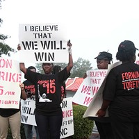 In September, fast-food workers in Charlotte and across the country protested to raise the minimum wage to $15.