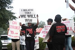 ENID VALU - In September, fast-food workers in Charlotte and across the country protested to raise the minimum wage to $15.