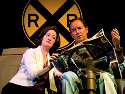 CAROLINA ACTORS STUDIO THEATRE - IN THE DRIVER'S SEAT: Carl McIntyre (with Paige Johnston) returns in Autobahn
