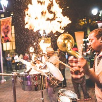 In the streets: Brass Connection