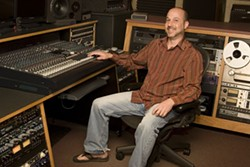 IN THE STUDIO: Rob Tavaglione, owner of Catalyst Recording - ANGUS LAMOND