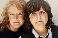 Indigo Girls at McGlohon Theater tonight (10/18/2012)