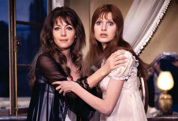 Ingrid Pitt and Madeline Smith in The Vampire Lovers (Photo: Shout! Factory)