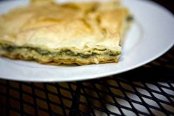 CATALINA KULCZAR-MARIN - INTERNATIONAL BREAKFAST: Try the börek at Metropolitan Café & Catering