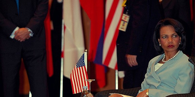 International crush: Gadhafi loves Condoleezza Rice