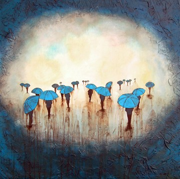 """""""Into the Rain"""" by Kendra Baird"""