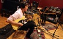 It takes three: Dylan Gilbert in studio with his alt-rock trio Hectorina