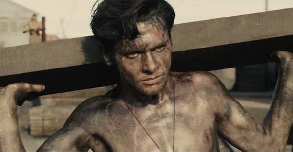 Jack O'Connell in Unbroken (Photo: Universal)