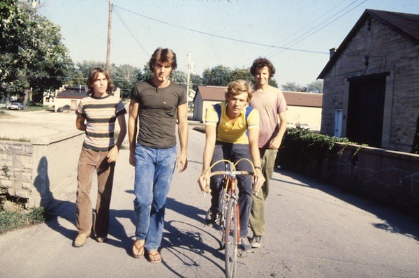 Jackie Earle Haley, Dennis Quaid, Dennis Christopher and Daniel Stern in Breaking Away (Photo: Twilight Time)