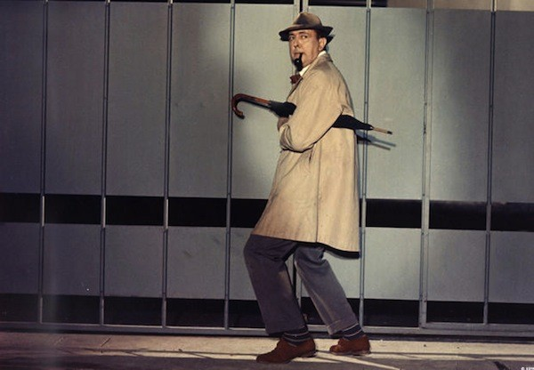 Jacques Tati in Mon Oncle (Photo: Criterion)
