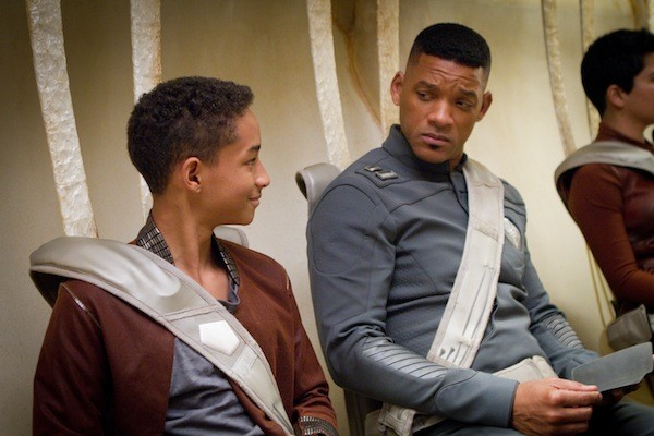 Jaden Smith and Will Smith in After Earth (Photo: Sony)