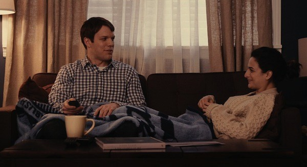 Jake Lacy and Jenny Slate in Obvious Child (Photo: Lionsgate)