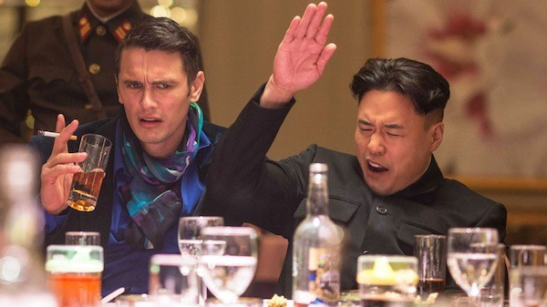 James Franco and Randall Park in The Interview (Photo: Columbia)