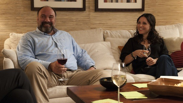 James Gandolfini and Julia Louis-Dreyfus in Enough Said. (Photo: Fox Searchlight)