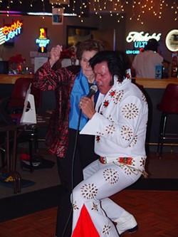 JARED NEUMARK - James Haas Elvis with Wild Woman.