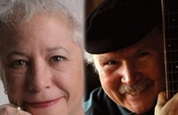 Janis Ian and Tom Paxton at the McGlohon Theatre tonight (10/16/2012)