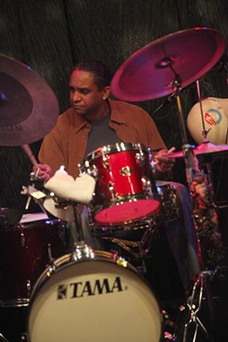 JEFF HAHNE - JAZZ HANDS: Ronnie Burrage came to Charlotte earlier this year as part of the Sai Musiq Jazz Series.