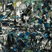 "Jean-Paul Riopelle, ""Composition,"" 1956, oil on canvas"