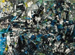 "© 2013 ARTISTS RIGHTS SOCIETY (ARS), NEW YORK / SODRAC, MONTREAL - Jean-Paul Riopelle, ""Composition,"" 1956, oil on canvas"