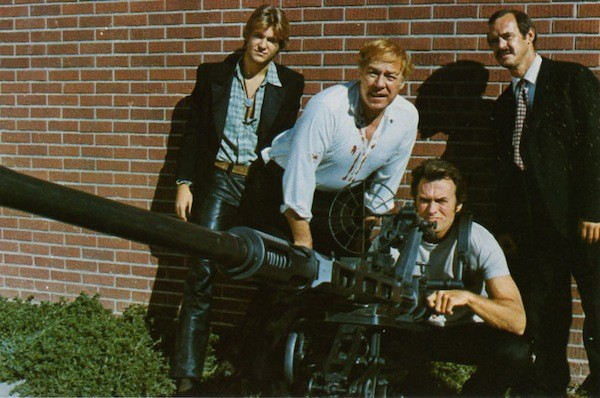 Jeff Bridges, George Kennedy, Clint Eastwood and Geoffrey Lewis in Thunderbolt and Lightfoot (Photo: Kino Lorber)