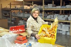 RICK MULLIS - Jenifer Mullis at her second job