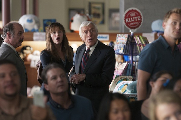 Jennifer Garner and Dick Van Dyke in Alexander and the Terrible, Horrible, No Good, Very Bad Day (Photo: Disney)