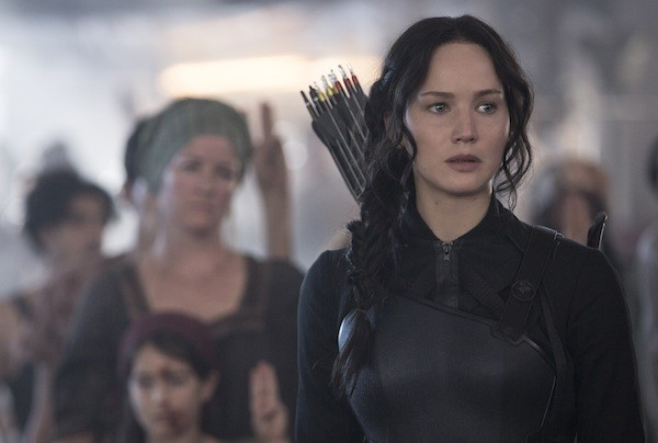 Jennifer Lawrence in The Hunger Games: Mockingjay — Part 1 (Photo: Lionsgate)