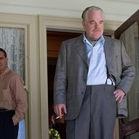 Joaquin Phoenix (left) and Philip Seymour Hoffman in The Master (Photo: The Weinstein Co.)