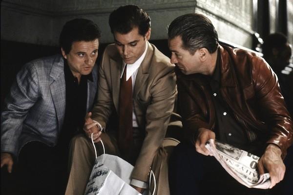 Joe Pesci, Ray Liotta and Robert De Niro in GoodFellas (Photo: Warner Bros.)