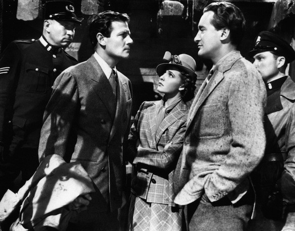 Joel McCrea, Laraine Day and George Sanders in Foreign Correspondent (Photo: Criterion)