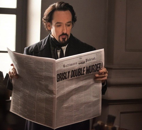 John Cusack in The Raven (Photo: Fox)