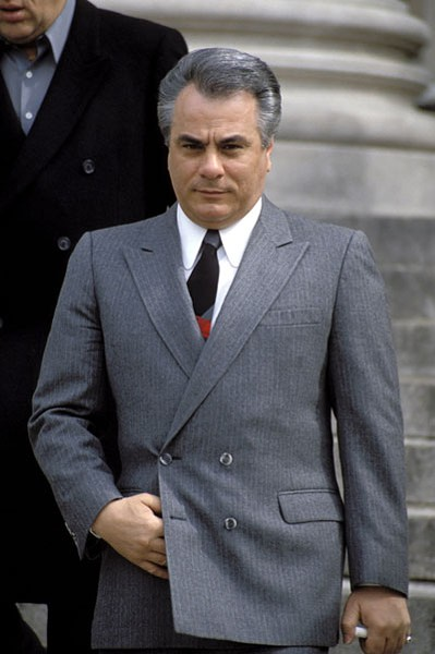 John Gotti was head of New York's Gambino crime family for six years before being convicted and sentenced to life imprisonment in 1992. - SPLASH NEWS