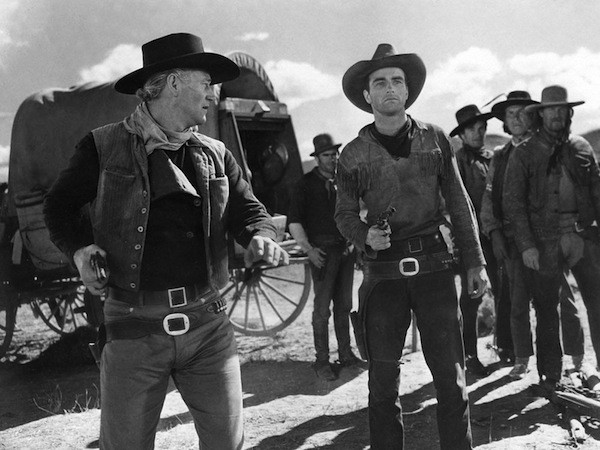John Wayne and Montgomery Clift in Red River (Photo: Criterion Collection)