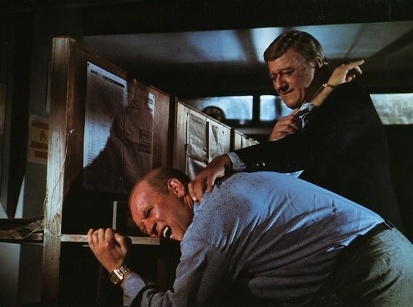 John Wayne (right) in Brannigan (Photo: Twilight Time)