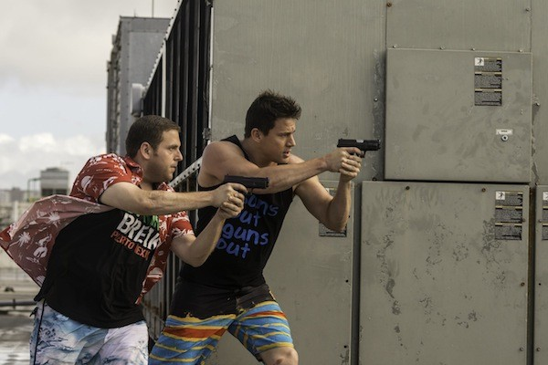 Jonah Hill and Channing Tatum in 22 Jump Street (Photo: MGM & Columbia)