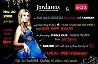 Jordanos + EQ3 = A great anniversary party