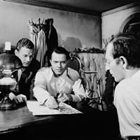 Joseph Cotten, Orson Welles and Everett Sloane in Citizen Kane