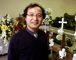 Joseph Yi, president of Korean Association of Charlotte - CHRIS RADOK